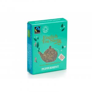 English TEa Shop - Bylinný čaj Peppermint v pyramidce do konvičky