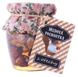 Medová pochoutka s ořechy 145g