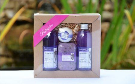 botanico dárková kosmetická kazeta levandule