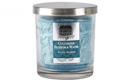 Villa Collection - přírodní vonná svíčka Cucumber, Blossom & Water