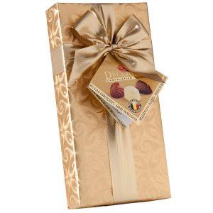 delafaille belgické pralinky čokoládové zlaté