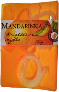 botanico křišťálové mýdlo s vruty mandarinka