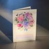 Komplimentka přání Hortenzie květiny