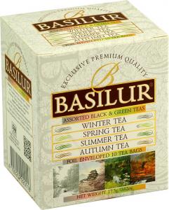 basilur four seasons assorted black and green teas