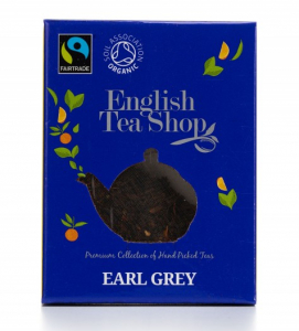 ets english tea shop earl grey černý bio čaj v pyramidce do konvičky