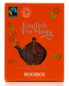 ets english tea shop rooibos bio čaj v pyramidce do konvičky