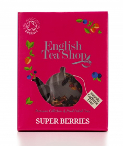 ets bio super berries super ovocný english tea shop čaj v pyramidce