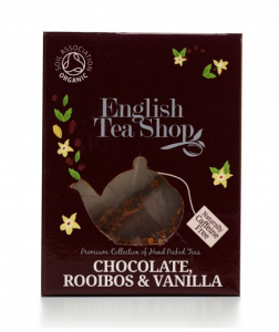 ets chocolate rooibos vanilla pyramid english tea shop