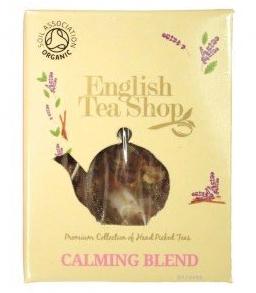 ets calming blend pyramid tea zklidňující směs english tea shop