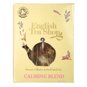 ets calming blend pyramid tea zklidňující směs english tea shop