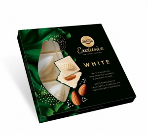 laima exclusive white toasted almond coconut flakes
