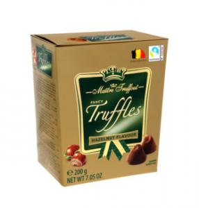 maitre truffout zlaté fruffle hazelnut lískový ořech čokoládové