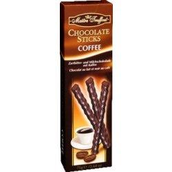 maitre truffout tyčinky z hořké čokolády s kávovou příchutí