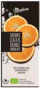 BIO hořká čokoláda s pomerančem 100g