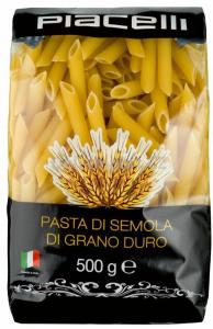 piacelli penne rigate těstoviny semolinové 500g