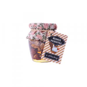 procyon botanico medová pochoutka s ořechy