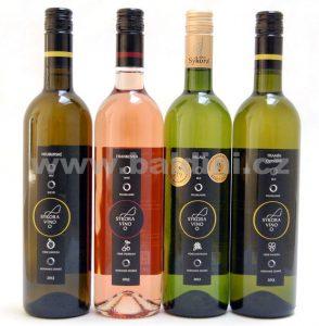 sýkora víno lahve 0,75l