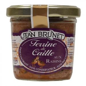 jean brunet křepelčí terina s rozinkami francouzská terina