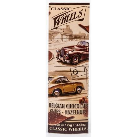 wheels čokoládové chipsy líískový oříšek sladkosti
